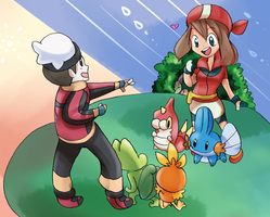 PKMN20 - OmegaRuby AlphaSapphire and Emerald by MintAnnComics
