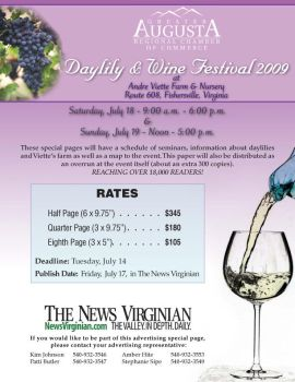Day lily and wine festival 09 by Rebecca329