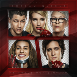 +Scream Queens photopack png by ForeverTribute
