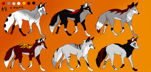 ADOPTABLES .:CLOSED:. Batch 2 by Mireille-Adopts