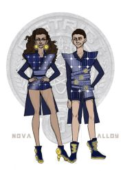 The Hunger Games - District 5 Tributes by Windnstorm