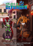 Outlands of Gefunden: Manga Cover 2 by NitroGoblin