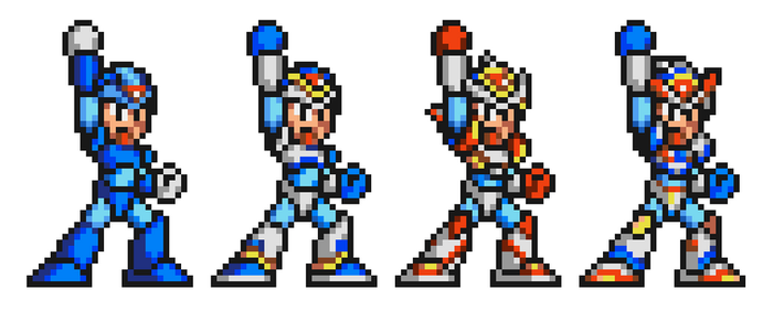 Mega Man X Armor much? by SMUSX16475