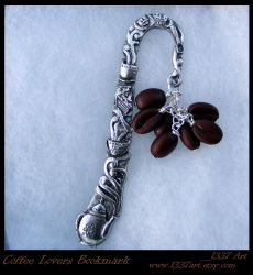 Coffee Lovers Bookmark by 1337-Art