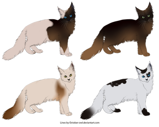 .:ADOPTS:. Cats 2 by Lemonegrass