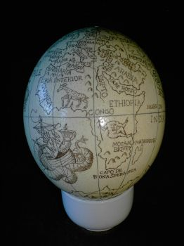 The Knies Globe - Africa by Panthaleon