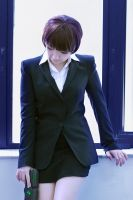 Akane cosplay (Psycho-Pass) by Shibitohime by frontsideair