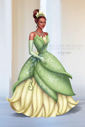 Tiana Trouble - Commission - 1st Picture by LadyKraken
