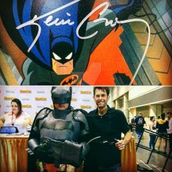 MegaCon 2016 - Meeting Kevin Conroy/The Batman by AzraelFallen18