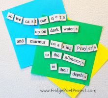The Daily Magnet #258 by FridgePoetProject