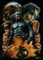 The Dark Knight Trilogy by Bate-man26