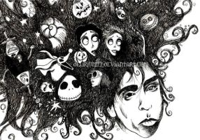 tim burton's infinite dreams by vasodelirium