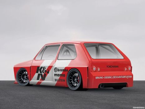 Vw Golf 1974 Race Prototype by Bruno-Desing