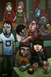 USA kids by jasinski
