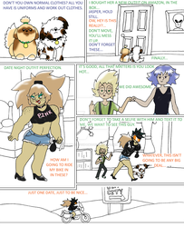 Homeworld Trio: Page 2 by UmbraFoxPaws