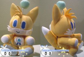 Tails Chao Plushie by BriteWingz