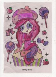 Strawberry Shortcake coloring page again, sweet! by omgpeeps