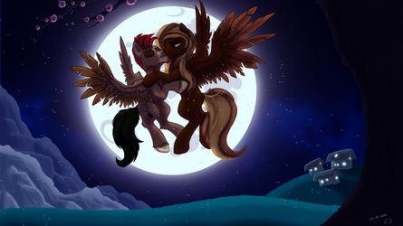 Midnight Kiss by CodePepper
