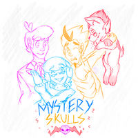 Mystery Skulls Animated by MikaMilaCat