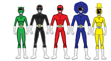 United Sentai Filmerenger by StevieGLiverpool