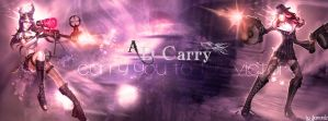 Design AD Carry - Credit : Riot Games (LoL) by Diamoondz
