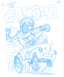 Th'Gasser!! by angryrooster