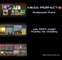 Mess Perfect 2 - super wallpaper pack by Epantiras