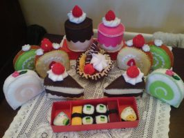 Cake and Sushi Collection by jeni-c