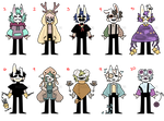 (CLOSED) masked kids 23 by ReeAdopts
