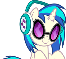 Vector #640 - Vinyl Scratch #5 by DashieSparkle