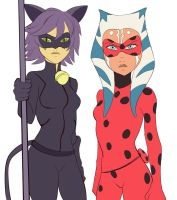 Miraculous AU by Montano-Fausto