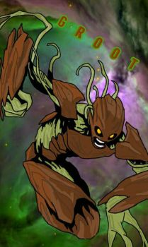 I am GROOT!!! by super-sloth821