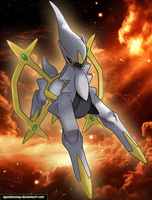 Arceus - Original One by nganlamsong