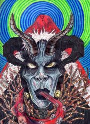 St. Krampus The Just by TheDaveL