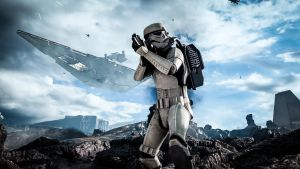Stormtrooper - Star Wars Battlefront by PlanK-69