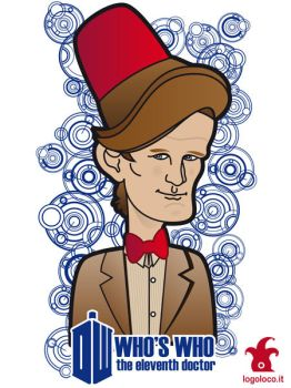 Doctor Who: Who's Who, Matt Smith by logolocoadv