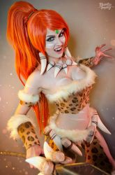 Leopard Nidalee - League of legends by Kinpatsu-Cosplay