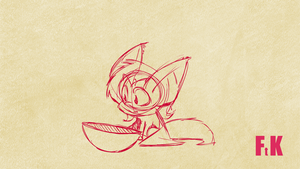 Rough Flutterbat Animation by FluttershytheKind
