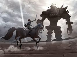 Shadow of Colossus by areevecroixhydeist
