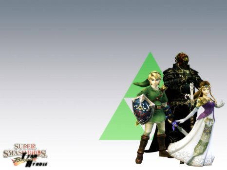 SSBB: Team Hyrule by JeffHighwind