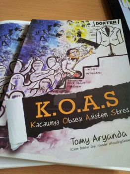K.O.A.S. My first professional illustration work by anonymous1310