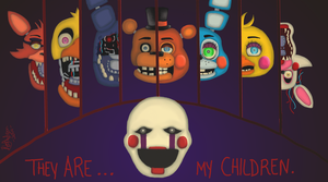The Puppets Family by Nagem1891