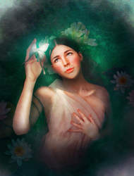 Ophelia by Lovelorn-Insanity