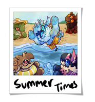 Summer Time with Jrs by onigiryStuff