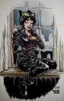Catwoman by Tallychyck
