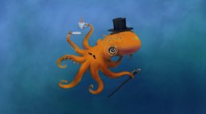 A Proper Octopod by rimorob