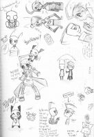 Doodle Invasion by BrokenDeathAngel