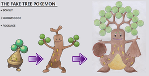 The Fake Tree Pokemon