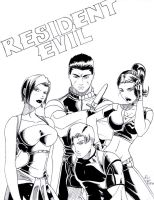 Resident Evil Issue Cover by Ari-Spike-Nadelman