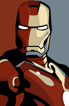 IRON-MAN by Shanzell